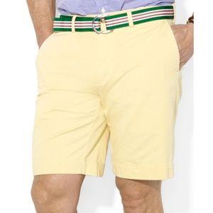 Ralph Lauren Polo Yellow Chino Shorts